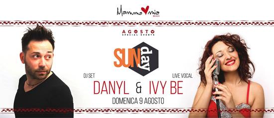 Danyl e Ivy Be al Mamma Mia beach a Santa Teresa di Riva