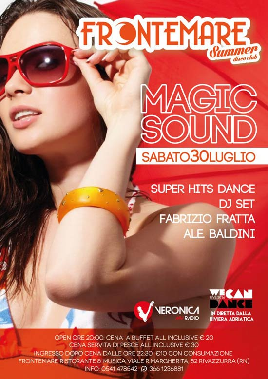 Super Hits Dance al Ristorante Frontemare di Rimini