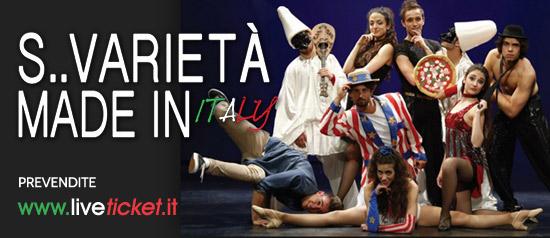 """""""S...varietà made in Italy"""" al Teatro Leo Amici di Rimini"""