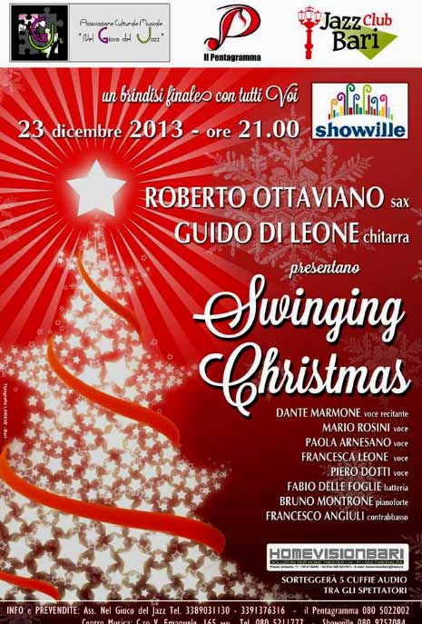 """Swinging Christmas"" allo Showille di Bari"