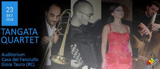 Tangata Quartet all'Auditorium Casa del Fanciullo a Gioia Tauro