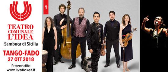 Tango Fado al Teatro L'Idea a Sambuca di Sicilia
