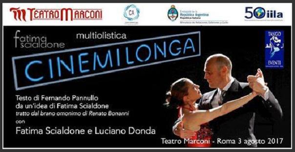 """""""Cinemilonga"""" al Teatro Marconi di Roma"""