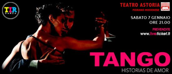Tango Historias de amor al Teatro Astoria di Fiorano Modenese