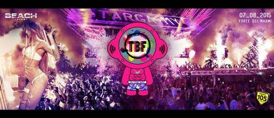 Targamy al Beach Club Versilia