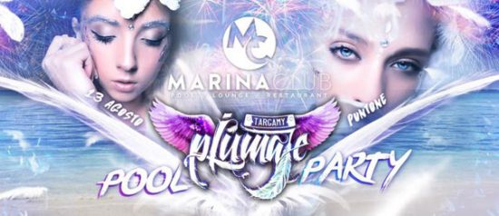 "Amazing sunday special edition ""Targamy Piumaje"" pool party al Marina Club a Puntone"