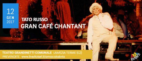 """Tato Russo """"Gran Café Chantant"""" al Teatro Comunale Grandinetti di Lamezia Terme"""