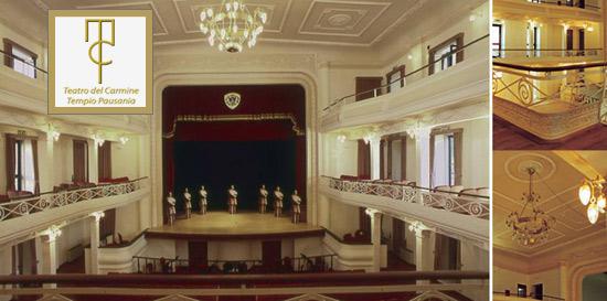 Teatro del Carmine, Tempio Pausania (OT),