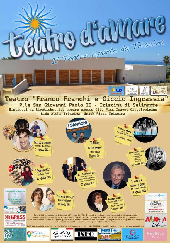 Teatro d'aMARE a Castelvetrano