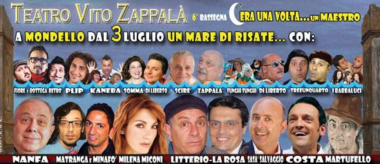 """""""C'era una volta... un maestro"""" al Teatro Vito Zappalà di Palermo"""