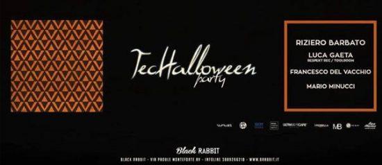 TecHalloween Party al Black Rabbit a Monteforte Irpino