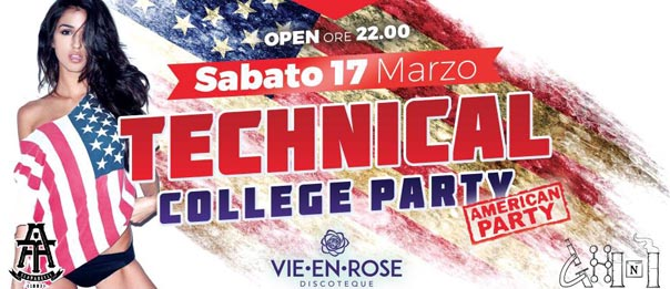 Technical college party a La Vie en Rose a Imola