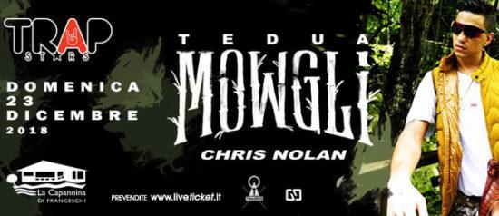 Tedua Mowgli a La Capannina di Franceschi di Forte dei Marmi