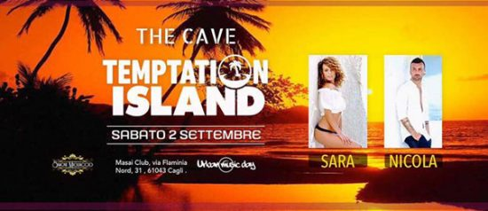 Temptation Island al The Cave - Masai Club Cagli