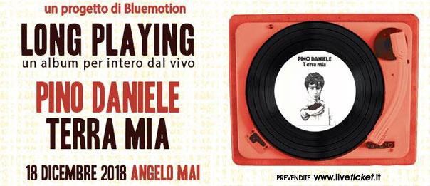 LP#20 Terra Mia di Pino Daniele con Gnut all'Angelo Mai di Roma