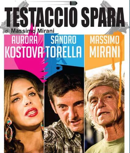 """Testaccio spara""al Teatro Duse di Roma"