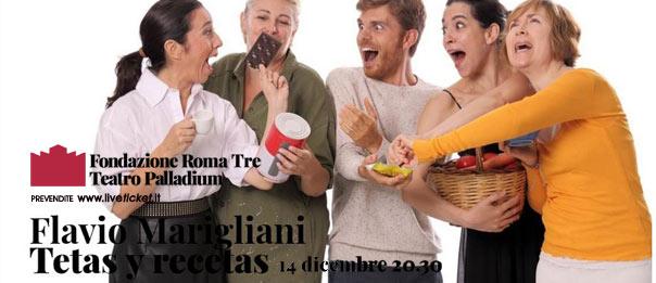 Tetas y recetas al Teatro Palladium a Roma