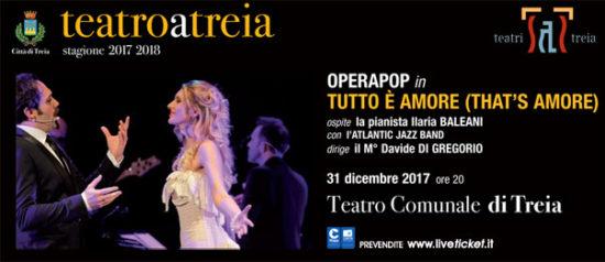 Tutto è Amore (That's Amore) al Teatro Comunale di Treia