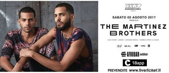 With Love presents: The Martinez Brothers a Afrobar di Catania