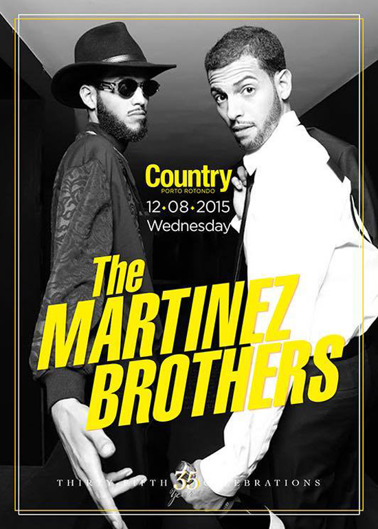 The Martinez Brothers a Porto Rotondo