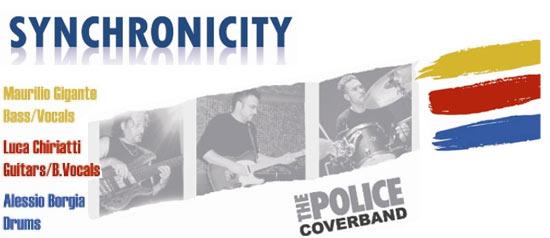 Synchronicity - Police Coverband live al Malisud di Corigliano D'Otranto