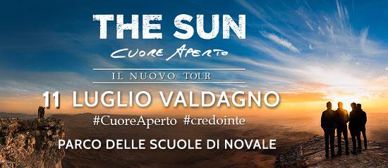 """""""The Sun"""" Cuore Aperto Tour"""