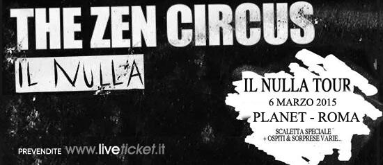 The Zen Circus @ Planet Roma