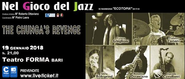 The Chunga's Revenge al Teatro Forma di Bari