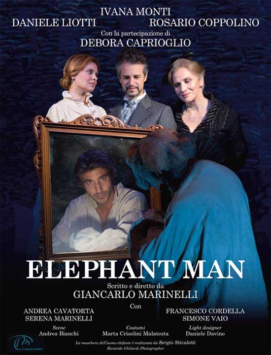 """The elephant man"" al Teatro Alaleona di Montegiorgio"