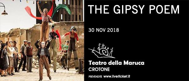 The Gipsy poem al Teatro della Maruca a Crotone