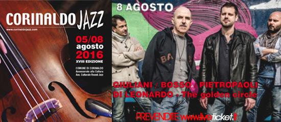 The golden circle al Corinaldo Jazz
