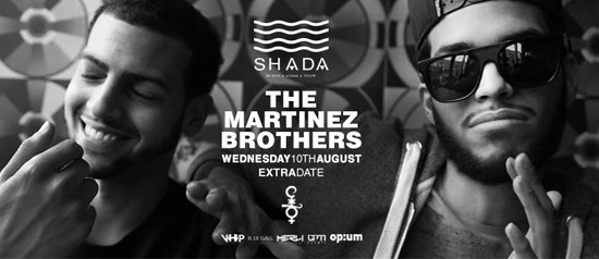 The Martinez Brothers allo Shada Beach Club a Civitanova Marche