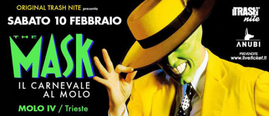 The Mask - Carnevale Trash al Molo 4 a Trieste