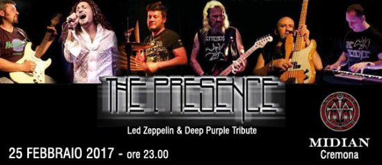 The Presence - Led Zeppelin & Deep Purple Tribute al Midian Live Pub di Cremona