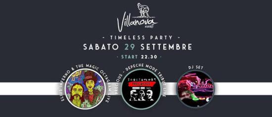 Timeless party & live with Precious & Elius Inferno al Villanova di Pulsano