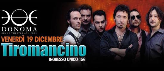 Tiromancino al Donoma Sound Theater and Food di Civitanova Marche