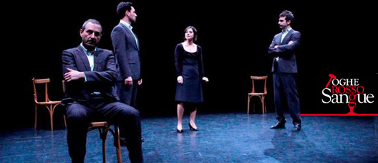 Toghe rosso sangue, Teatri di Pietra, 2012