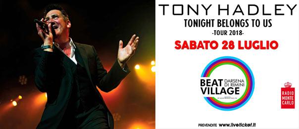 Tony Hadley al Beat Village alla Nuova Darsena di Rimini