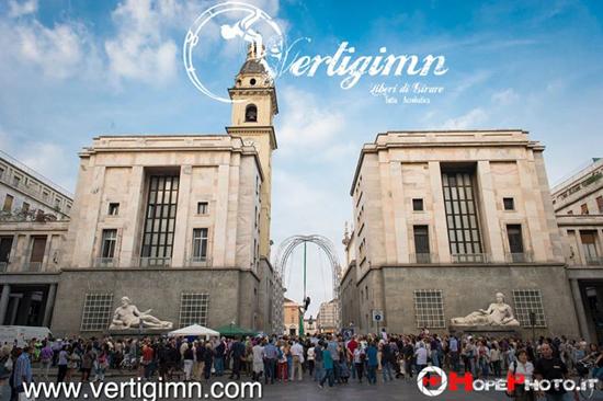 Vertigimn Calisthenics Kontest a Torino