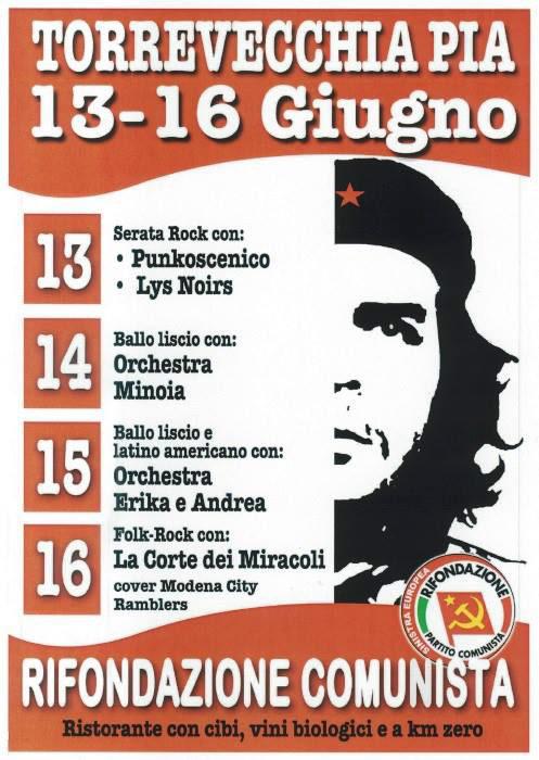 Punkoscenico LIVE @ Festa P.R.C. a Torrevecchia Pia