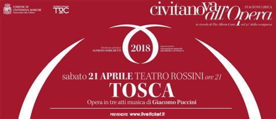 Tosca al Teatro Rossini di Civitanova Marche