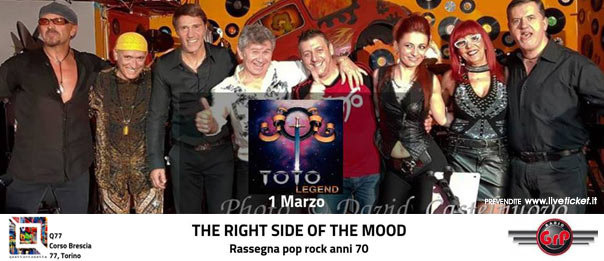 Hold The Time - Toto Legend al Q77 di Torino