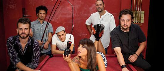Ketty Passa & Toxic Tuna live al Rising Love di Roma