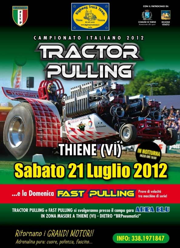 Tractor Pulling & Fast Pulling 2012