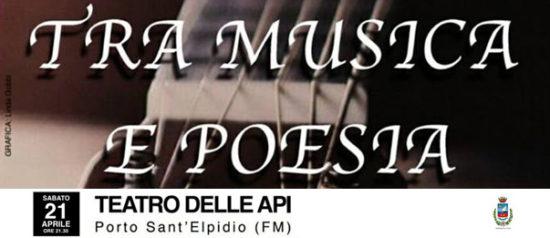 Tra musica e poesia al Teatro delle Api di Porto Sant'Elpidio