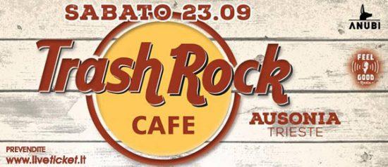 Trash Rock cafè all'Ausonia Beach Club di Trieste