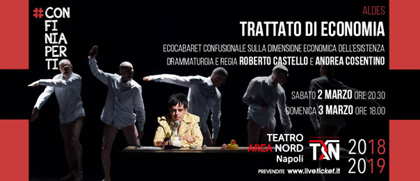 Trattato di Economia al Teatro Area Nord di Napoli