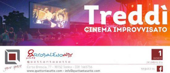 Treddì - il cinema improvvisato al Q77 di Torino
