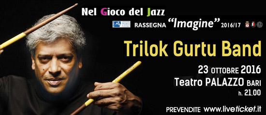 Trilok Gurtu Band a Teatro Palazzo a Bari