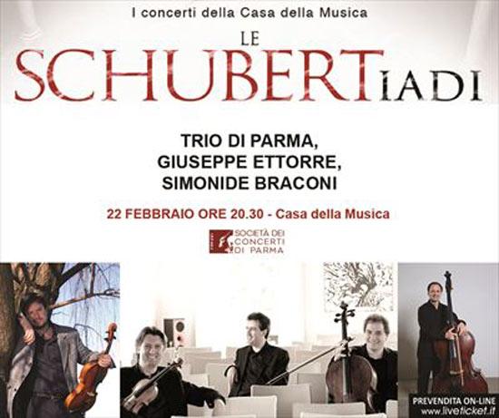 Trio di Parma, Simonide Braconi e Giuseppe Ettorre alla Casa della Musica di Parma